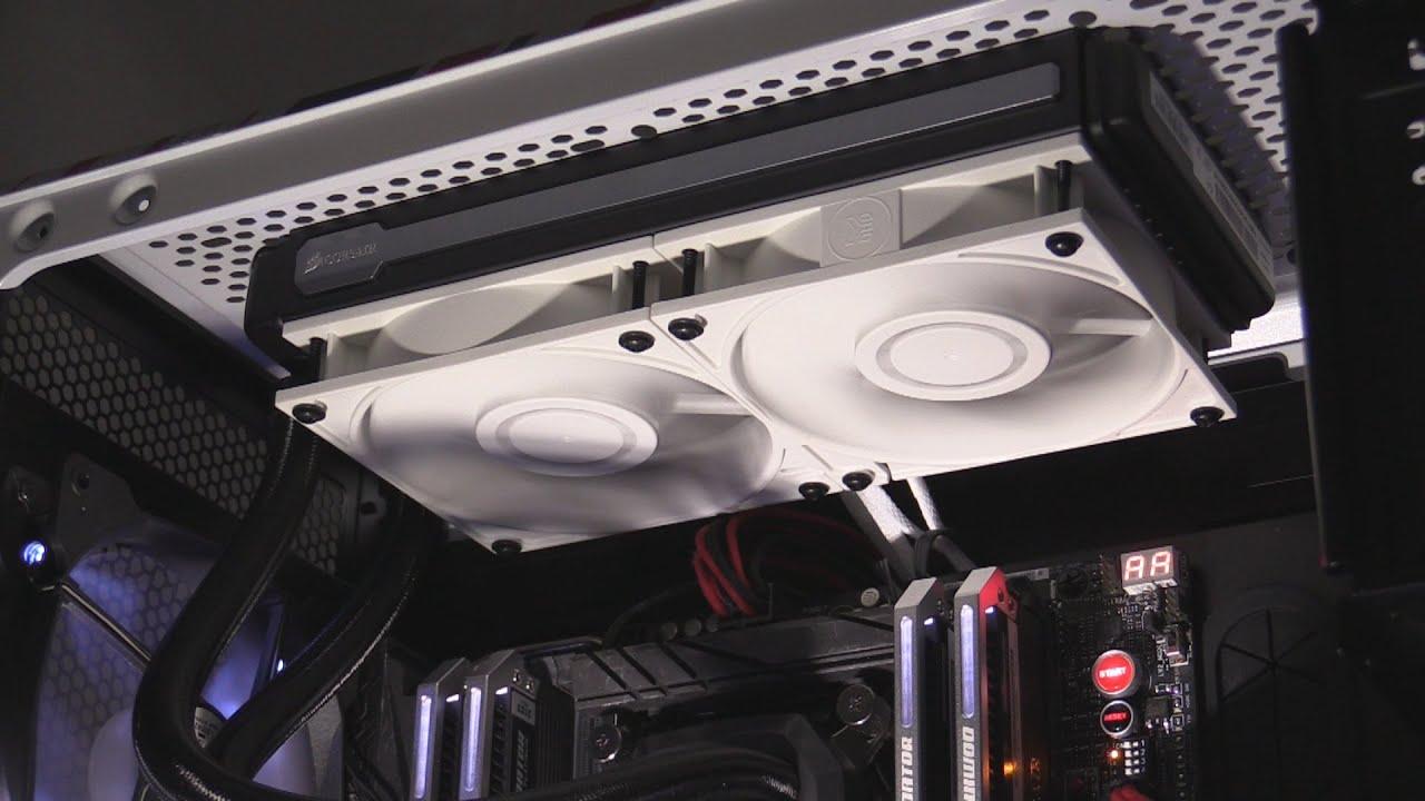 EK Vardar White Heatsink & Radiator Static Pressure Fan Review