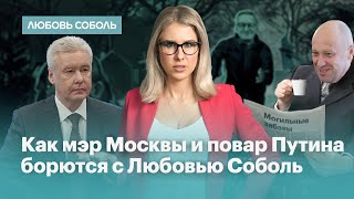 Смотреть видео Как мэр Москвы и повар Путина борются с Любовью Соболь онлайн