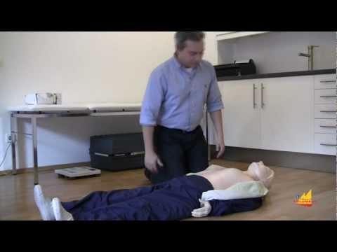 Herzmassage und Beatmung - Erste Hilfe