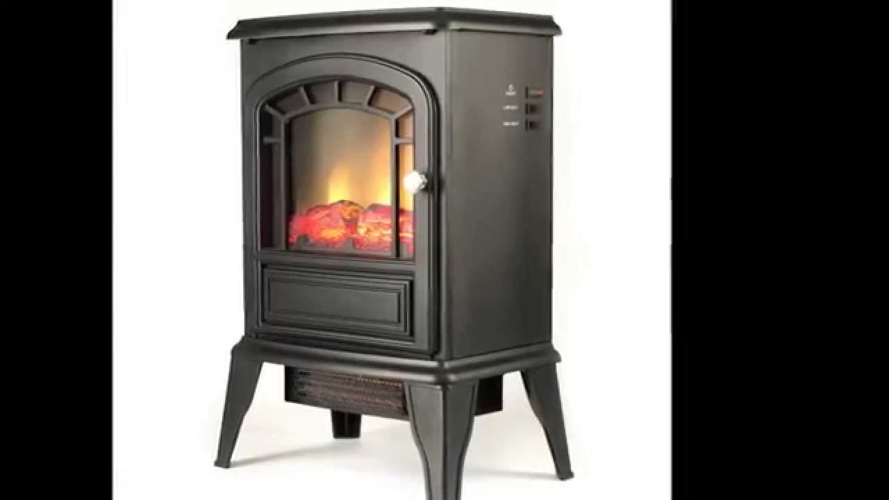 The Aspen electric stove from e-Flame USA delivers a classic picture frame front and dancing flame in a small package. No need to worry about chimney fires
