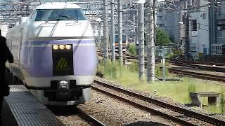 [引退済み]E351系特急スーパーあずさ15号「松本行き」中央線立川駅到着