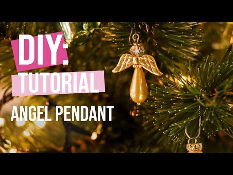 DIY Tutorial: Angel pendant