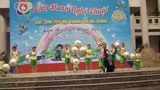 Hội thi tiếng hát HSTiểu học TPHD năm 2015