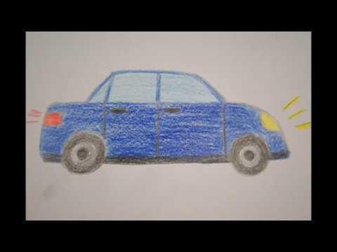 Lieblings Auto zeichnen für Kinder - How to draw a Car for Children - как #PO_42
