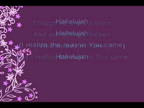 Krystal Meyers-Hallelujah (lyrics)