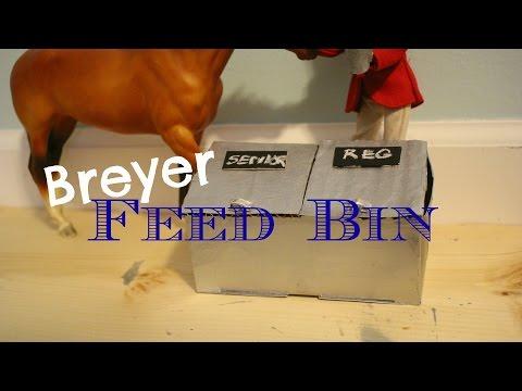 || How to make a || Breyer Feed Bin ||