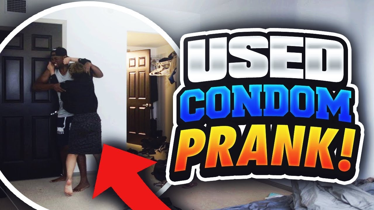 USED CONDOM CHEATING PRANK ON GIRLFRIEND GONE WRONG!