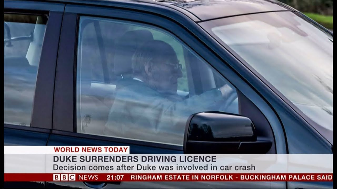 prince philip gives up driving licence (uk) - bbc news - 9th