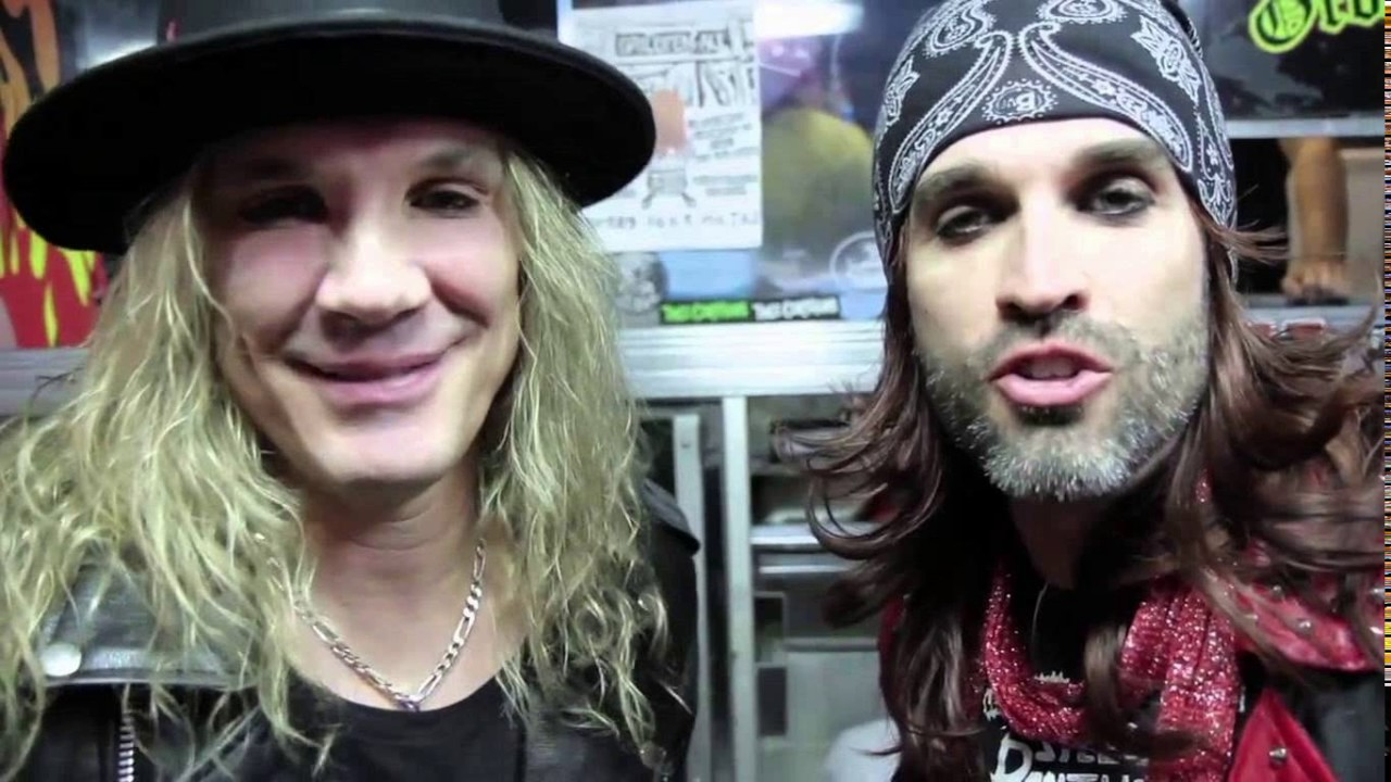 Steel panther without wigs and makeup