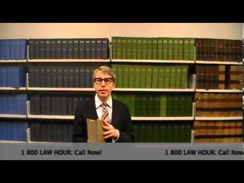 Pith and Substance 2013: Law Hour #3