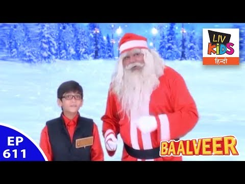 Baal Veer - बालवीर - Episode 611 - Manav Hangsout With Santa Claus