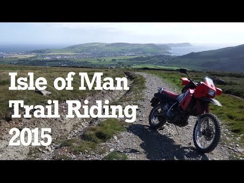 A Ride Along the Isle of Man's Green Roads (KLR650, June 2015)