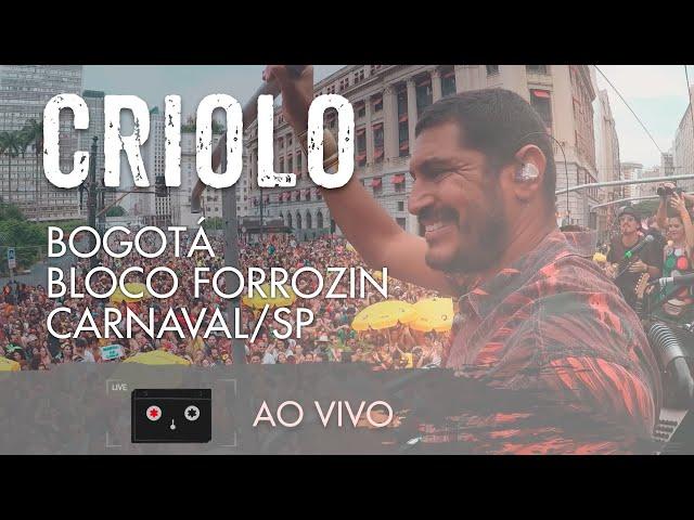 Criolo - Bogotá - Bloco Forrozin - Carnaval/SP