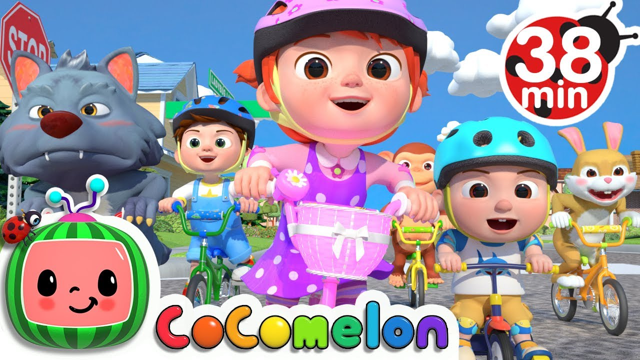 You Can Ride a Bike + More Nursery Rhymes & Kids Songs – CoComelon