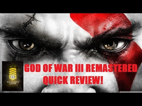 Probando God Of War III  Remastered  Quick Review EG