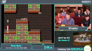 Awesome Games Done Quick 2015 - Part 51 - Blaster Master by Coolkid