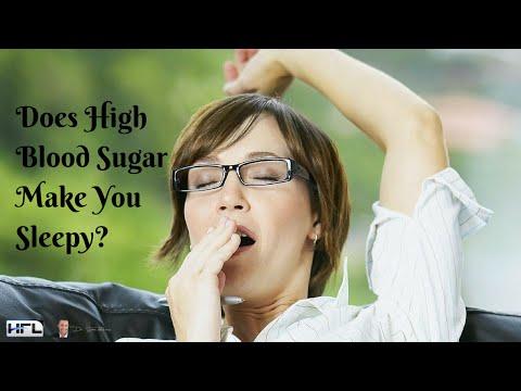 Does High Blood Sugar Make You Sleepy?