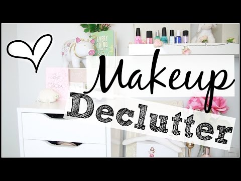 Makeup Collection + Declutter! // Foundations and Concealers