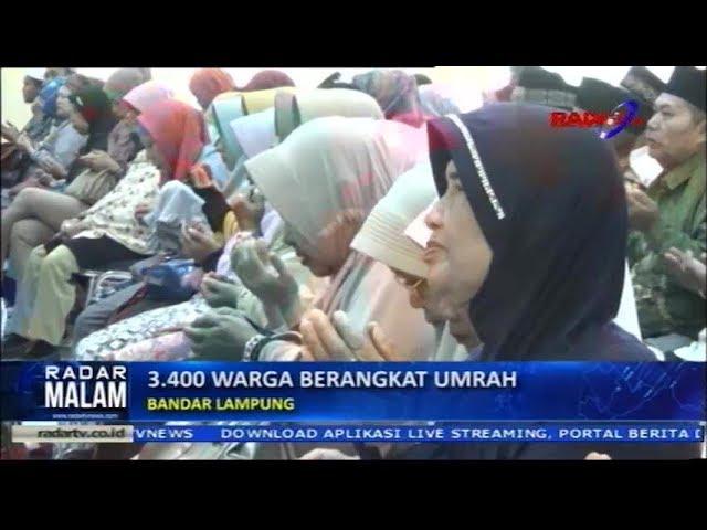 3 400 Warga Berangkat Umroh Gratis Oleh Pemkot Bandar Lampung