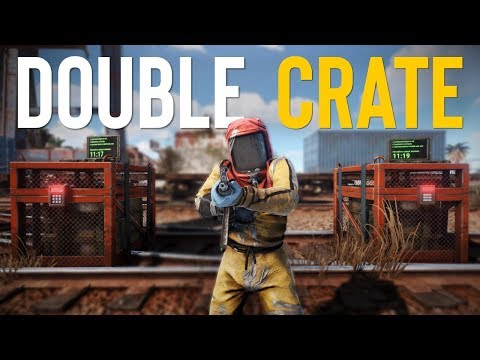 DOUBLE CHINOOK LOCKED CRATES! - Rust SOLO Survival thumbnail