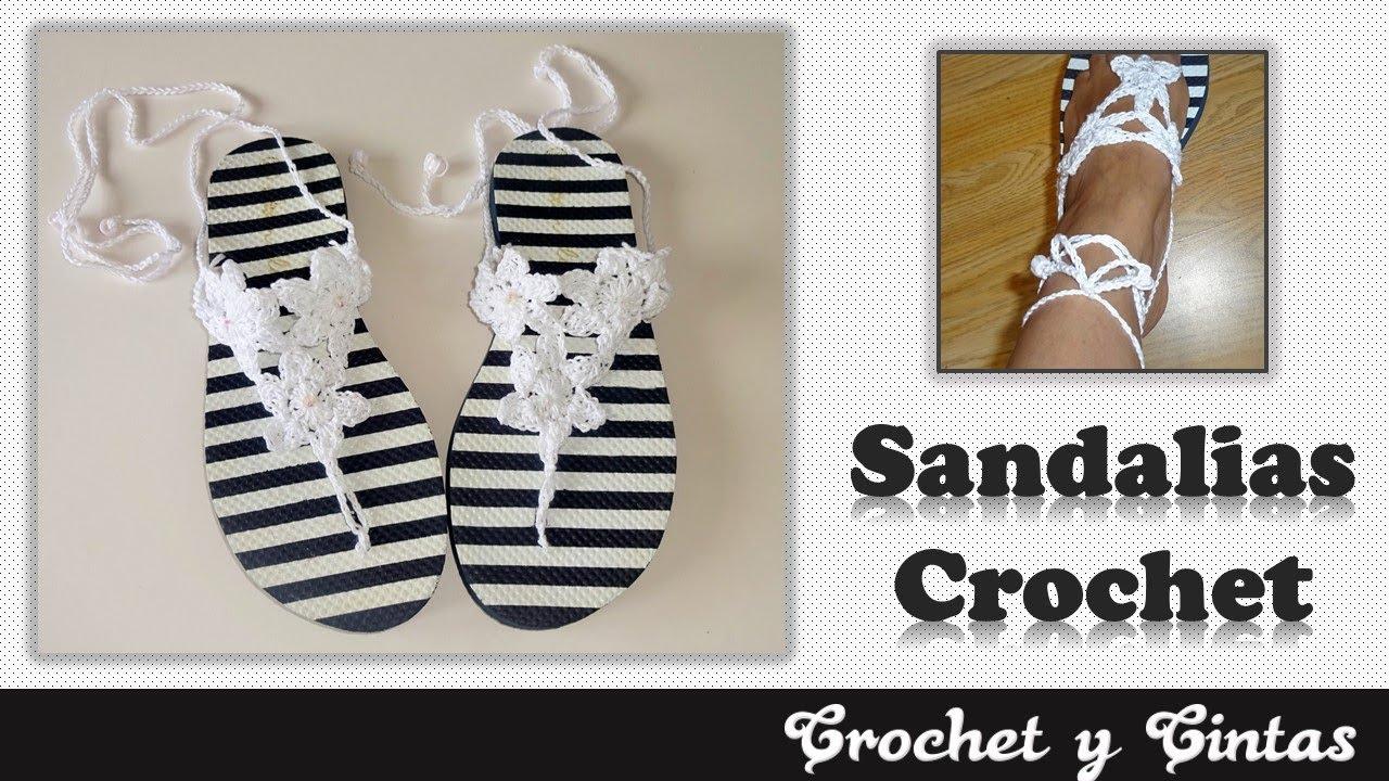 Tejidas Para Crochet A Mujer Sandalias EHIeW9YD2
