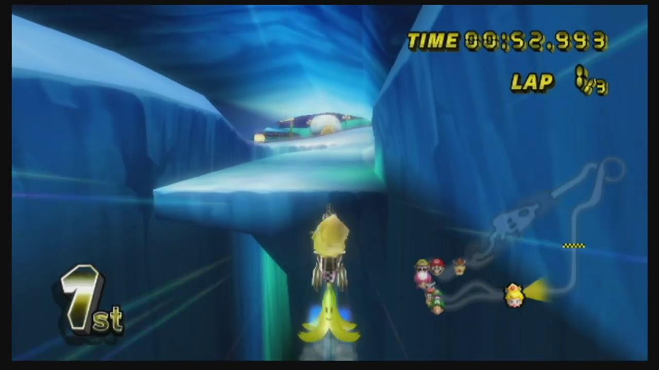 3DS Rosalina's Ice World (MysterE99 & Skipper93653) - Custom Mario Kart