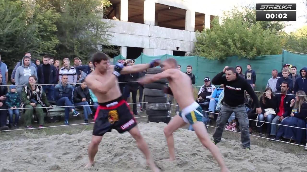Боксёр против Тайского Боксера !! Бой Без правил !!