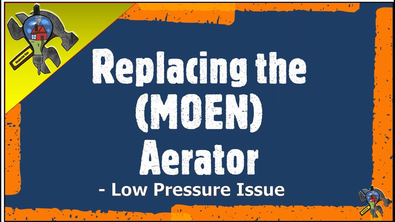 aerator moen replacement pressure