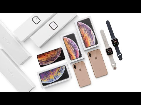 Apple iPhone XS, XS Max & Watch Series 4 Unboxing!