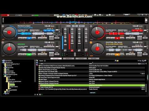 Микширование музыки в VirtualDj