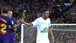 Chapecoense crash survivor Alan Ruschel  vs. Barcelona