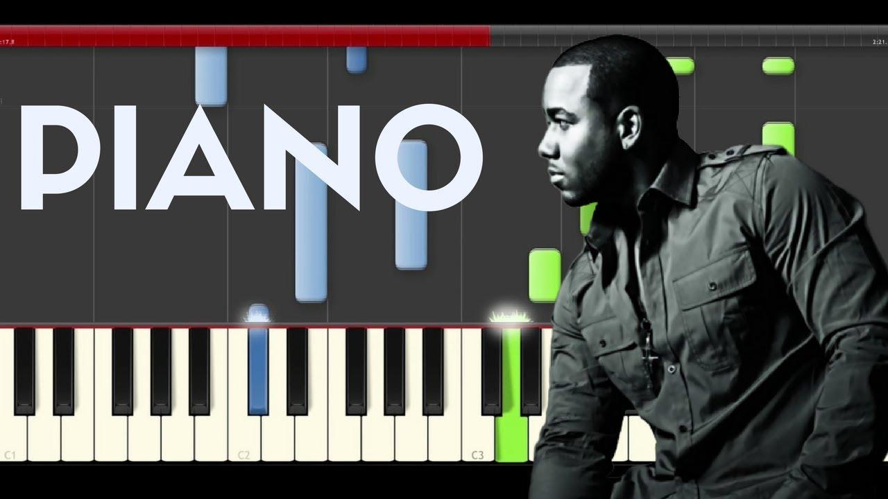 romeo santos imitadora piano midi tutorial sheet app cover
