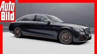 Mercedes S 65 Final Edition (Genf 2019) - Neuvorstellung - Final Edition - Details