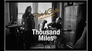 A thousand miles - acoustic vanessa carlton cover live