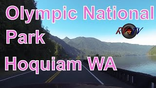Olympic National Park...Sequim...Forks...Hoquiam Washington....Highway 101...RVerTV