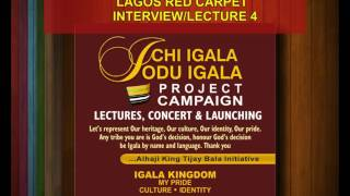 Lagos red carpet (3) Ichi Igala Odu lgala project, unity & progress campaign, interviews@Tijay B