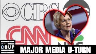 CNN Deceptively Props Up Poll That Favors Elizabeth Warren Over Bernie Sanders