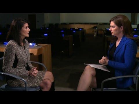 Watch Ambassador Nikki Haley\'s full interview