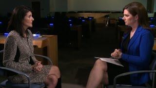 Watch Ambassador Nikki Haley's full interview
