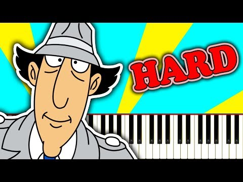 INSPECTOR GADGET THEME SONG - Piano Tutorial