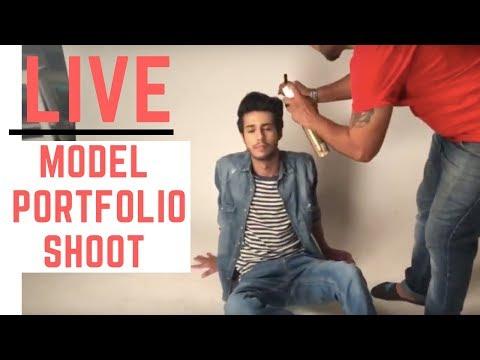 Live Model Poses ! Male model portfolio Tips  | modeling portfolio by Praveen Bhat