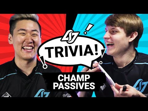 GUESS THAT LOL CHAMP PASSIVE #4 | CLG TRIVIA ft. Fill + Wiggily