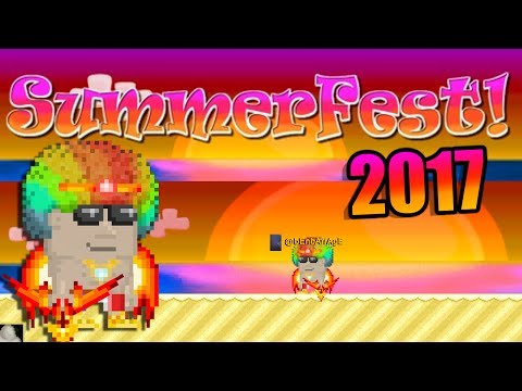 Growtopia - SummerFest 2017: How to get rich / ready