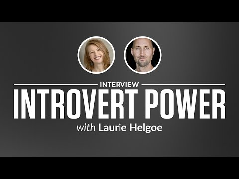 Optimize Interview: Introvert Power with Laurie Helgoe