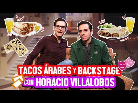 TACOS ÁRABES Y BACKSTAGE CON HORACIO VILLALOBOS - ÑamÑam (Episodio 106)