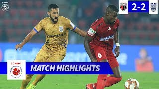 NorthEast United FC 2-2 Mumbai City FC - Match 25 Highlights | Hero ISL 2019-20