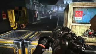 Wolfenstein The New Order Deathshead Final Boss Fight On Uber Difficulty