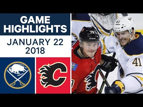 NHL Game in 4 minutes: Sabres vs. Flames