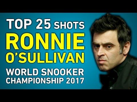 TOP SHOTS!!! RONNIE O