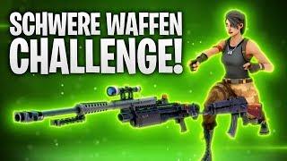 DIE SCHWERE WAFFEN CHALLENGE! 💀 | Fortnite: Battle Royale